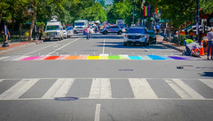 2017.06.09 DCRainbowCrosswalks, Washington, DC USA 6201