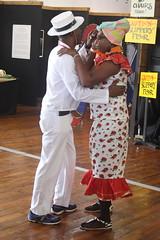 Conga Los Hoyos (2017) 09 (KM's Live Music shots) Tags: worldmusic cuba congasantiaguera congaloshoyos dancers neworleansjazzheritagefestival culturalexchangepavilion fairgroundsracecourseneworleans