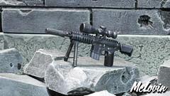 Mk 12 Mod 0 SPR (McLovin1309) Tags: sniper rifle mk 12 mod 1 spr special purpose tt lego tiny tactical sidan toys toy bipod