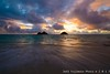 Lanikai Sunrise (j . f o o j) Tags: nikond610 nikkor50mmf12ais nikkor20mmf28 lanikai lanikaibeach