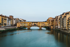 Ponte Vecchio (desomnis) Tags: florence firenze toscana toscany italy italien toskana travel traveling ponte vecchio pontevecchio travelphotography desomnis 6d canon6d canoneos6d tamronsp2470mmf28 tamron2470mm longexposure longtimeexposure longexposuretime water reflection waterreflection architecture historicalbuildings oldtown