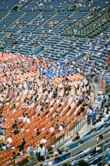 yokohama stadium (左 撇子) Tags: film baseball baseballfield jashangtang fujifilm xtra400 tokyo yokohama love people tangjashang 底片 底片攝影