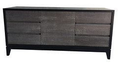 Custom Napkin 6 drawer with door