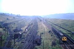 Mottram Yard (ee20213) Tags: mottramyard woodheadroute class506 disusedrailways abandonedrailways emu 1500dc staffhalt