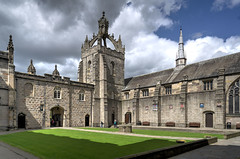 King's College Courtyard (downstreamer) Tags: aberdeen aberdeenuniversity scotland universityofaberdeen unitedkingdom