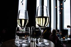 A bar with a view (Maria Eklind) Tags: wine sweden kitchentable ljusdunkel fotosondag fotosöndag malmölive restaurant abarwithaview clarionhotel dim utsikt glasses skybar fs170618 light malmö skånelän sverige se