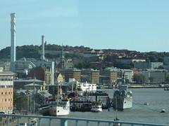 Lilla Bommen, port from Götaälvbron, Gothenburg, Sweden (Paul McClure DC) Tags: gothenburg göteborg sweden sverige july2015 architecture scenery