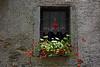 Frammenti di... Rivera - Valle Antrona (Vb) (frank28883) Tags: rivera valleantrona verbanocusioossola pietre finestrafiorita cuorerosso merletti gerani inferriata finestrella