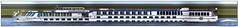 River Rhapsody (Morthole) Tags: slitscan ship boat schip boot barge binnenvaart schiff rheinschiff riverrhapsody passagiersschip passagiersboot passengersboat passengersship passagierschiff naviresãpassagers