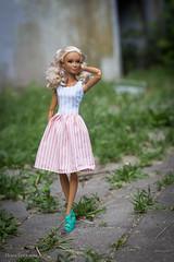 lea (olgabrezhneva) Tags: doll dream портрет portrait barbie yoga made move madetomove barbiedoll mattel people outdoor summer sea beach hande handemade knitting clothes lea