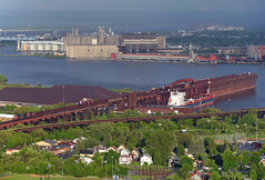 First Visit (Missabe Road) Tags: ic 6256 prs 6260 6264 algomastrongfield dock6 cn