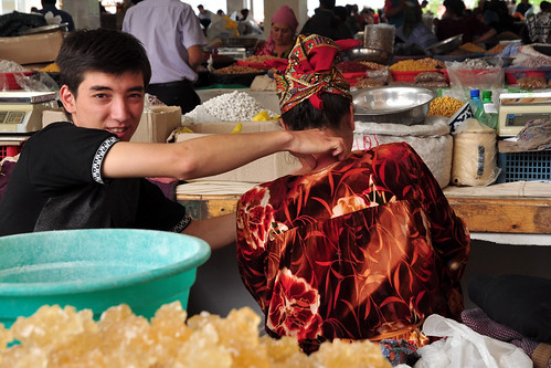 Siob bazaar, Samarkand