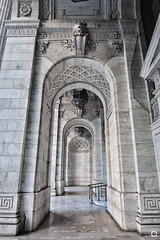 NYC Public Library (Aacidus) Tags: nyc newyork library marble structure arch columns entrances architecture building monument art stone facade manhattan travel urbanphotography
