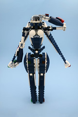 Bayley (E-Why) Tags: lego moc robot fembot gynoid mech