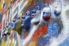 The John Lennon Wall (Pete Foley) Tags: johnlennon prague czechrepublic littlestories picswithsoul overtheexcellence