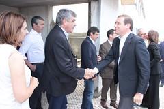 Pedro Passos Coelho em visita à região afetada pelos incêndios no Distrito de Leiria