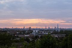 London skyline and sunset (mikecleggphotography) Tags: city cityscape colourful distant far landscape londonskyline place sunset urban
