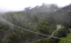 Highline179. Suspension Bridge B179, Reutte, Austria. (elsa11) Tags: highline highline179 reutte tirol hängebrücke supensionbridge hangbrug austria oostenrijk fortclaudia ruineehrenberg