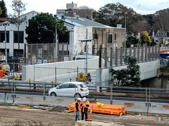 CBD & South East Light Rail - Moore Park West and Surry Hills - Update 21 June 2017 -  3 (john cowper) Tags: cselr sydneylightrail moorepark surryhills cutandcover tunnel bridge southdowlingstreet alignment construction infrastructure transportfornsw acconia project sydney newsouthwales
