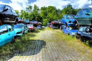 Autofriedhof - Junkyard