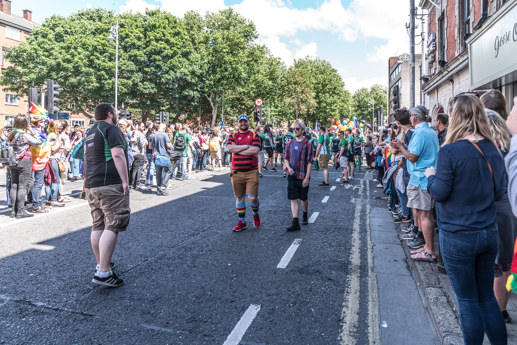 LGBTQ+ PRIDE PARADE 2017 [ON THE WAY FROM STEPHENS GREEN TO SMITHFIELD]-129981