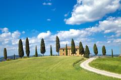 Tuscan landscape (debojit_dhar) Tags: tuscan sun landcape scenery pienza italy