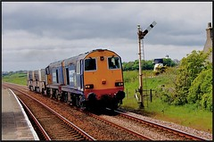 The Good old Days! (peterdouglas1) Tags: directrailservices valleyflasks 6k41 tycroes stations semaphoresignals class20s englishelectric type1 anglesey northwalescoastrailway