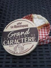 Camembert normand fabriqué á Pacė (Alençon) (mau.photo) Tags: alançon pace calvados vire pasteurisé lait camembert normandie aldi