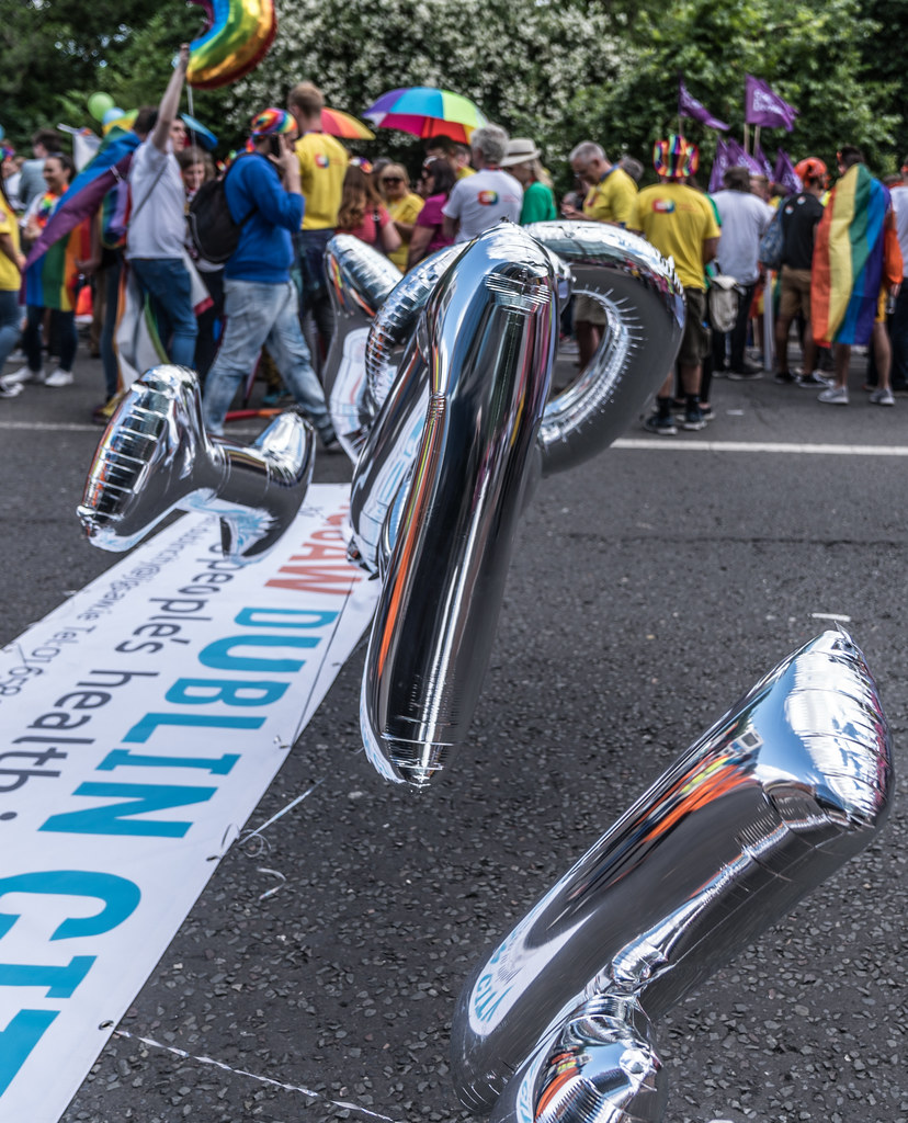 LGBTQ+ PRIDE PARADE 2017 [STEPHENS GREEN BEFORE THE ACTUAL PARADE]-129849
