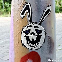 Sticker (Akbar Sim) Tags: sticker stickerart denhaag thehague agga holland nederland netherlands akbarsim akbarsimonse