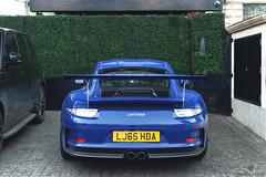 Blue! (Beyond Speed) Tags: porsche 911 991 gt3rs gt3 rs supercar supercars car cars carspotting nikon automotive automobili auto blue spoiler london knightsbridge