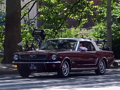 Ford Mustang convertible 1966 (Ardy van Driel) Tags: dz1045 softtop car