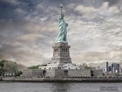 Estatua de la Libertad (LUIS FELICIANO) Tags: newyork estatuadelalibertad nuevayork usa eeuu rio estatua olympus e5 lent1260mm