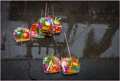 Offering to the Hindu Gods (VanderImages) Tags: bali offerings hindu