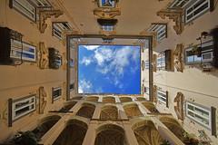 Il cielo in una stanza / The sky in a room (Napoli, Campania, Italy) (AndreaPucci) Tags: napoli rione sanità palazzo dello spagnolo campania italia italy andreapucci canoneos60