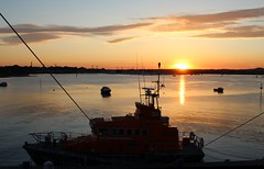 Eternal Vigilance (Jon_Wales) Tags: rnli college poole hotel charity lifesaving harbour sea lifeboat british england summer sunset rescue nightwatch trentclass earlandcountessmountbattenofburma