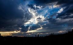 Colorado Painted Sky (Kerstin Winters Photography) Tags: skyglory landscape landschaft flickr flickrnature nikon nikkor nikondigital nikondsl naturfotografie silhouette colors colorado wolken clouds sky sun sonne sonnenuntergang sunset