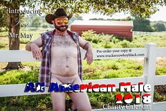(DesertHeatImages) Tags: all american male charity calendar 2018 furry men cowboy butts hairy bear twink smooth water wet