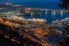 Port de Barcelona (Angeles h) Tags: port sea barcelona barcos ci