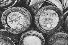 Wooden barrels @ Zaanse Schans (PaulHoo) Tags: fujifilm fuji x70 zaanse schans 2017 bw monochrome vintage barrel vat wood nostalgic blackandwhite still detail closeup