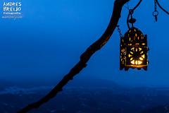 El último farolillo (Andres Breijo http://andresbreijo.com) Tags: paz tranquilidad anochecer noche night farol farolillo rama frigiliana axarquia malaga andalucia españa spain