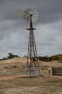 DSC_7291 windmill, Kow Plains Homestead, Cowangie, Victoria