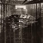 Painting of Northbank's hull underway thumbnail