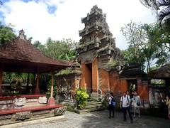 ubud_022 (OurTravelPics.com) Tags: ubud pavilion gate with closed doors puri saren agung palace
