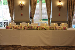 Oulton Hall. Leeds - Kiran & Joshua (Unique Wedding Flowers & Chair Covers) Tags: bagden hall huddersfield blue room chair covers blush sash lace candelabra flowers unique wedding emma osborne barnsley wakefield sheffield reception unusual special woolley yorkshire south west north bride bridal photo photograph england groom table decorations florist floral design wentbridge rogerthorpe manor house fairway elsecar nostell priory walton waterton twinkle twinkly satin orchard suite metcalfe wentworth woodhouse rotherham bouquet qhotel oulton asian indian kiran gupta joshua