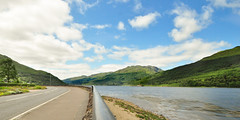 Loch Long Bend.. (Imagine8 Photography) Tags: road sky landscape nikon imagine8photography 1024mm loch bend turn lochlong highlands southernhighlands arrocher lochlomond trossachs nationalpark scenic mountains summer lush green