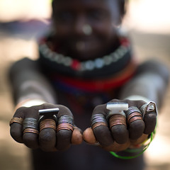 Sudanese Toposa tribe girl refugee showing her hand rings, Omo Valley, Kangate, Ethiopia (Eric Lafforgue) Tags: 1011years africa anthropology beaded beads beautifulpeople blackpeople child day decoration developingcountry eastafrica ethiopia ethiopia0617295 ethiopian feminine focusonforeground hands hornofafrica humanbodypart indigenousculture jewel jewelry kangate lookingatcamera necklaces omovalley onegirlonly outdoors refugee rings scars square sudanese toposa traditionalclothing tribal tribe tribeswoman et