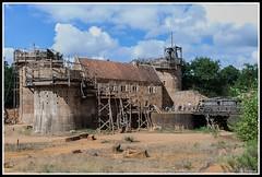Guédelon - Ils bâtissent un château fort (Guenever45) Tags: château guédelon yonne puisaye bourgogne châteaufort chantier médiéval moyenage bâtisseurs défi architecture