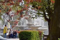 Fountain (petrOlly) Tags: poland polska polen pomorze europe europa gdynia tricity trójmiasto water fontanna fountain people city