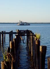 Sunset Tour (unnurol) Tags: sailing ship lake florida outdoor blue pier green brown sunset